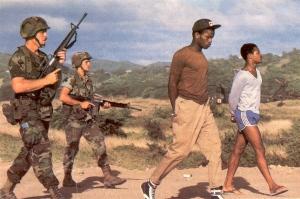 1983, Caribbean holiday